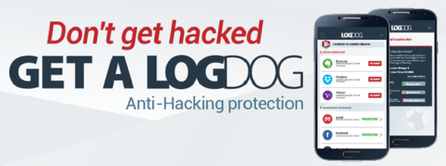 LogDog anti-hacking protection app