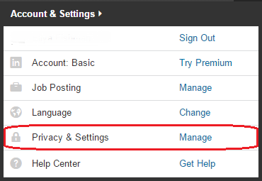 Privacy & Settings - LinkedIn account hacked
