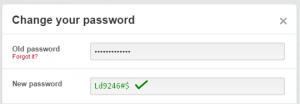 good pinterest password