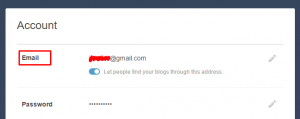 tumblr email account