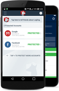 How LogDog protects all your accounts in one protection app