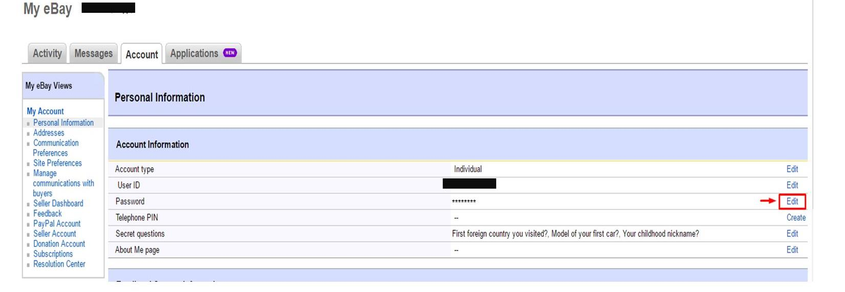 What should i do if my ebay account was hacked logdog password ebay biocorpaavc